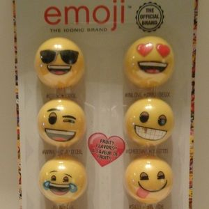 Emoji Lip Balm Set of 10 NEW